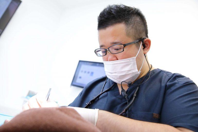 麻酔を効かせるための技術