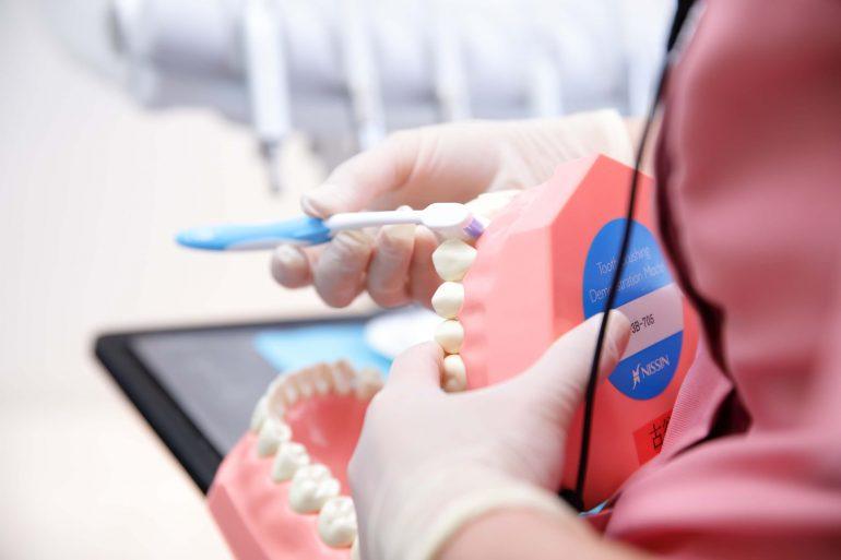 歯科衛生士によるクリーニング・ブラッシング指導